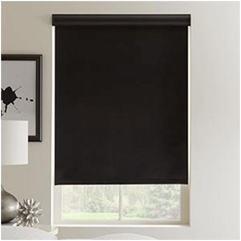 Blackout shades for window