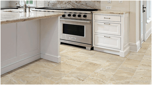 15 Different Types of Kitchen Floor Tiles  Extensive Buying Guide     Onyx Tile Kitchen Flooring
