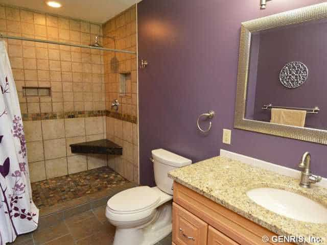 20 Purple Master Bathroom Ideas For 2019