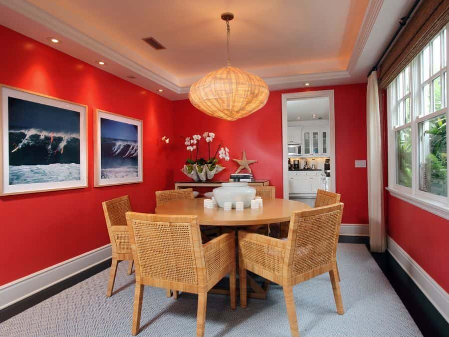 20 Red Dining Room Ideas for 2019