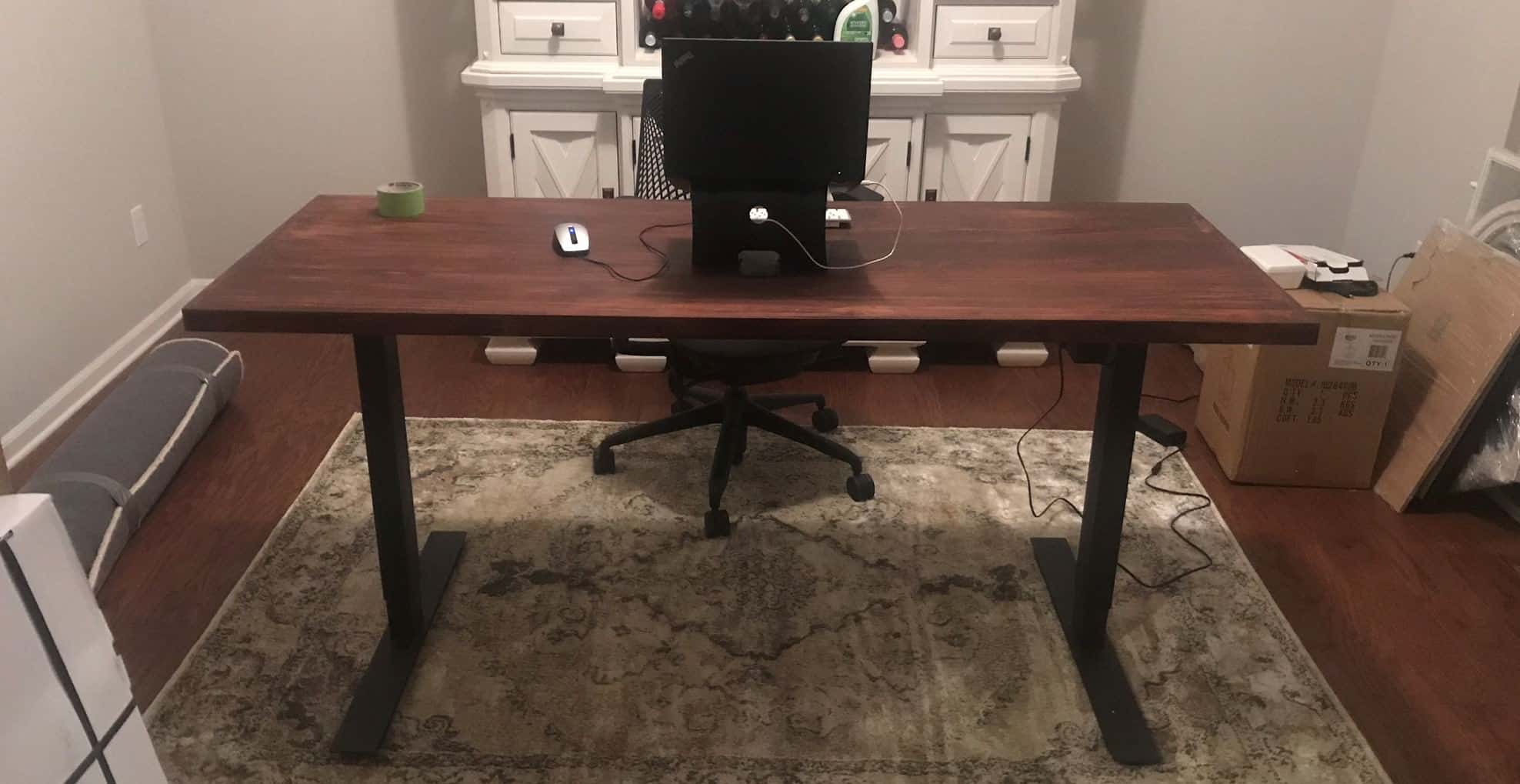 How To Build A DIY Adjustable Standing Desk Step By Step