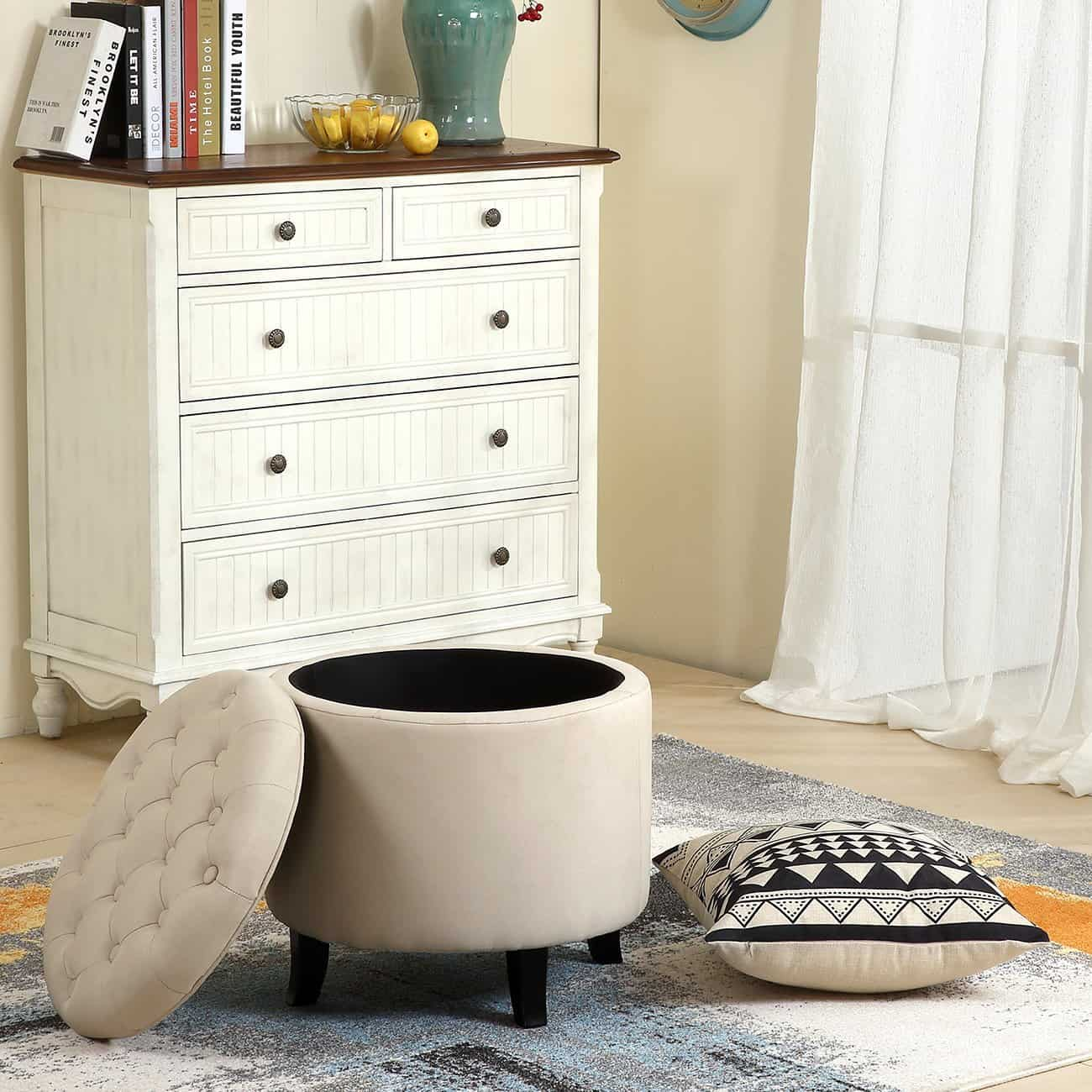 14 Best Small Ottoman Options For 2020