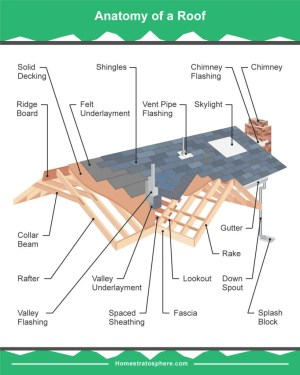 19 Parts of a Roof on a House (Detailed Diagram)