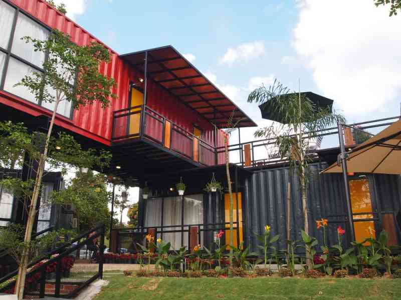 5 Container Home Design Software Options  Free and Paid in 2018  Photo example of a very cool shipping container home