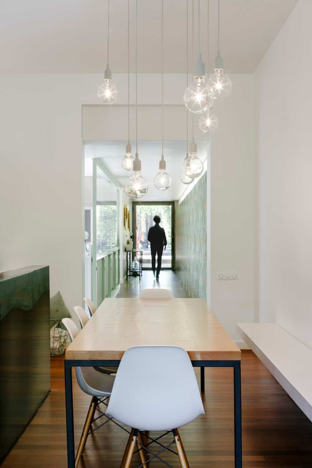 100 Dining Room Examples With A Rectangle Dining Table