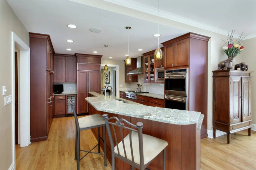 Modern Built Kitchen Cupboards