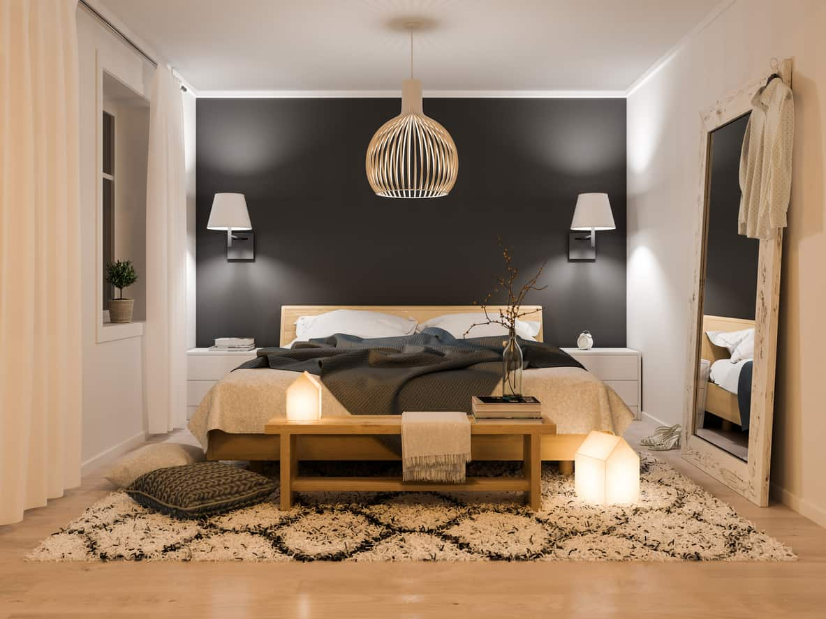 37 Clever Small Master Bedroom Ideas Photos