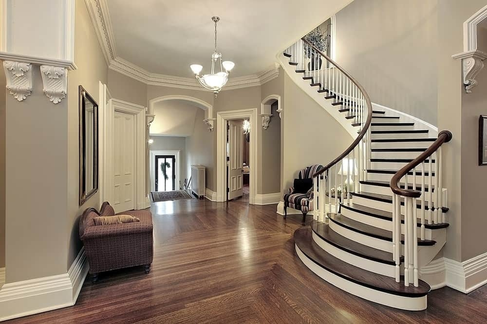 101 Staircase Design Ideas Photos | Wooden Staircase Designs For Homes | Beautiful | Royal Wooden Stair | Residential | Interior | Iron