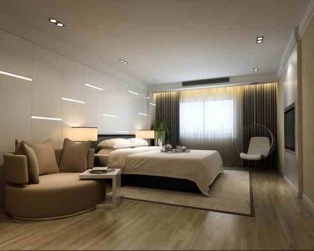 Wow! 101 Sleek Modern Primary Bedroom Ideas (Photos ...