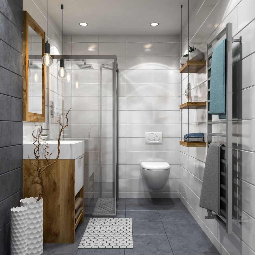 50 Sleek Modern Primary Bathroom Ideas (Photos)