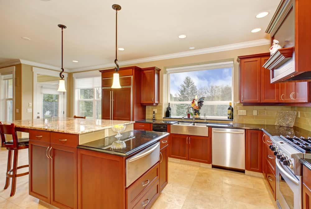 30 Kitchens With Two Tier Islands Nice Feature