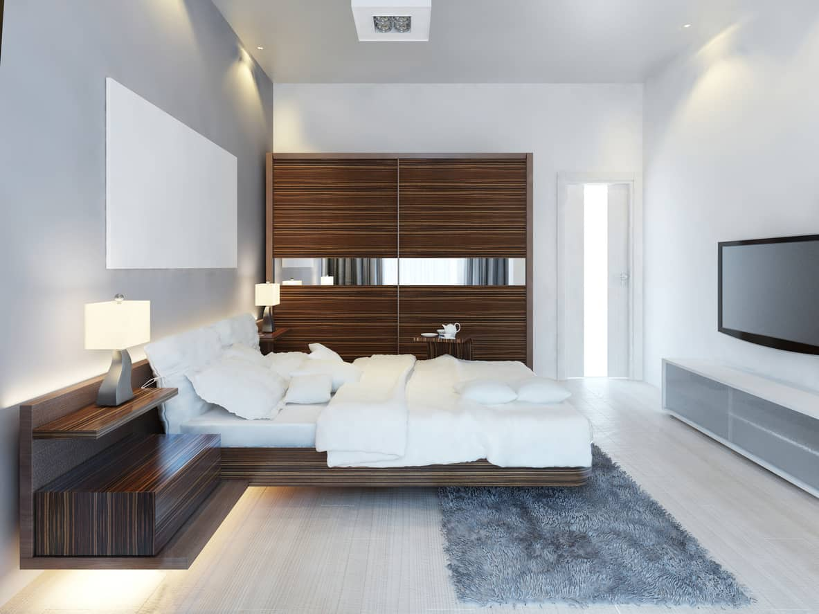 Wow 101 Sleek Modern Master Bedroom Ideas Photos