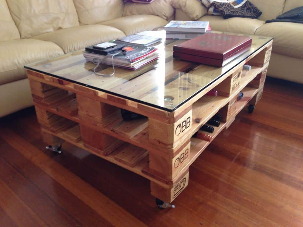 26 pallet coffee table ideas and projects