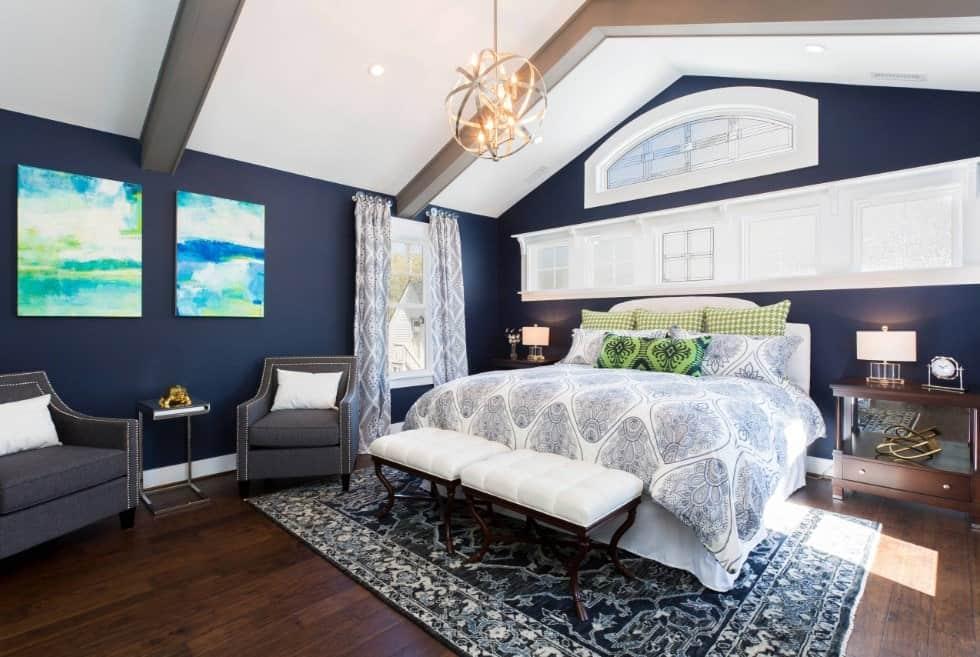 50 Blue Master Bedroom Ideas Photos