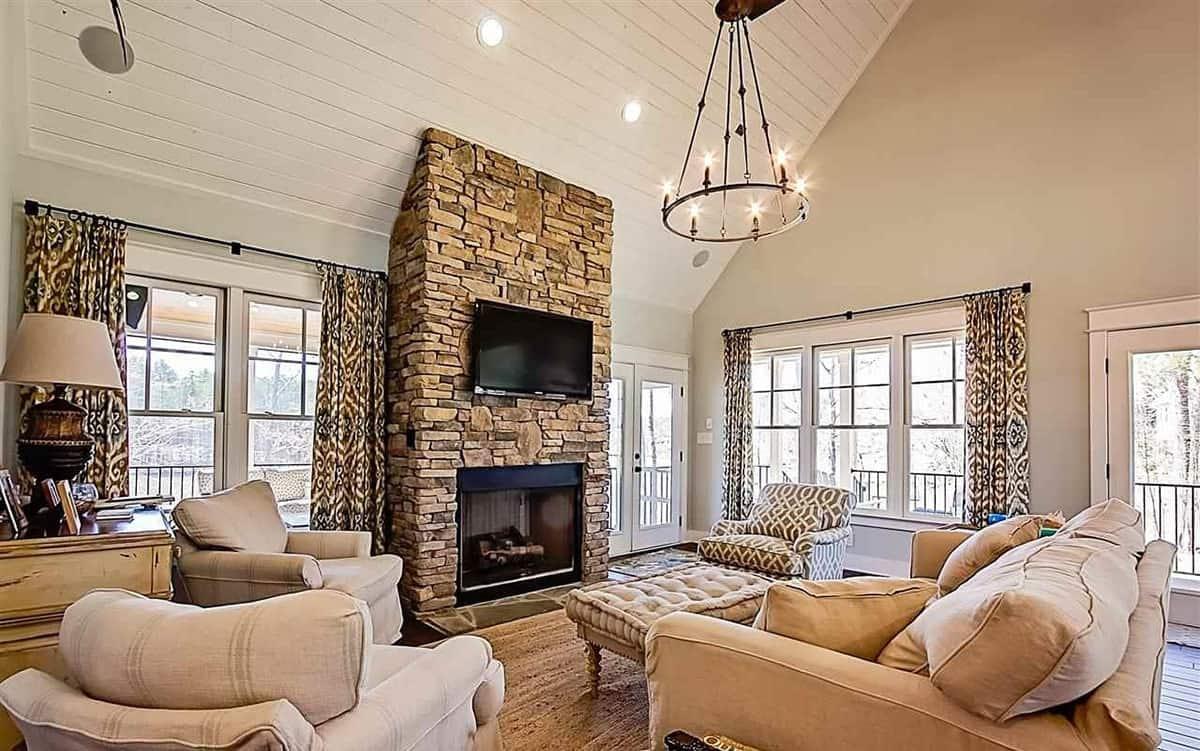 101 Rustic Living Room Ideas Photos