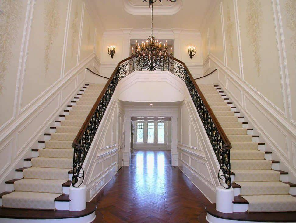 40 Bifurcated Staircase Ideas Photos
