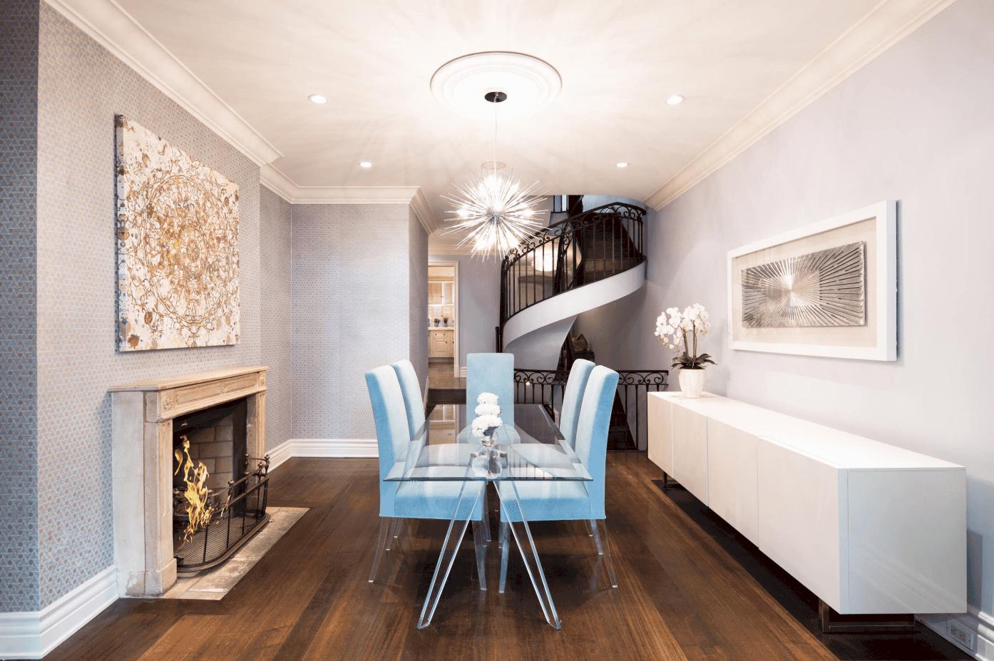 25 Purple Dining Room Ideas Photos