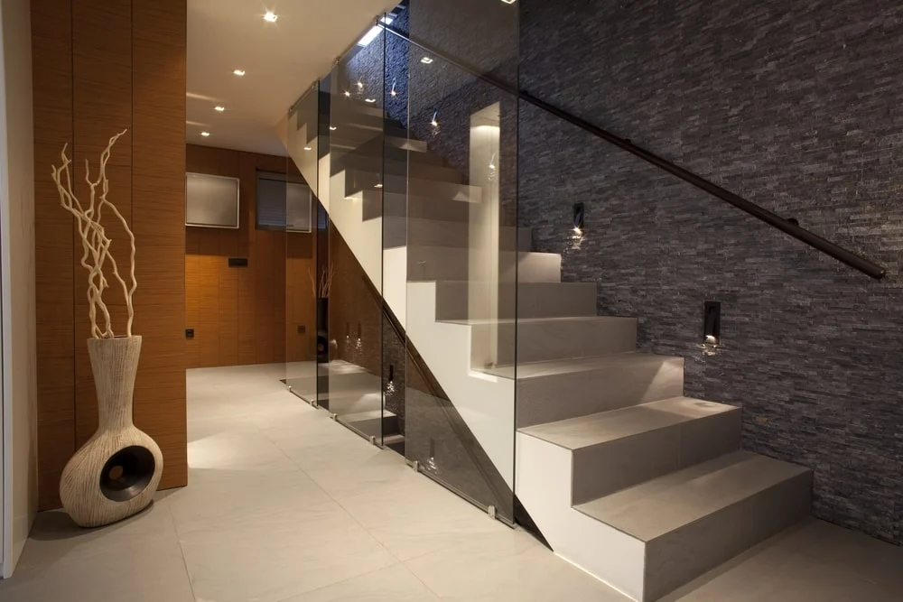 101 Staircase Design Ideas Photos | Staircase Side Wall Designs Tiles | Decorative | Unusual | Wall Painting | Front House | Modern