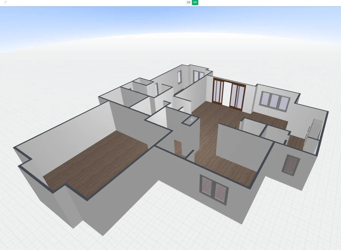 How To Convert A 2d Floor Plan Image To 3d Floor Plan That You Can Edit