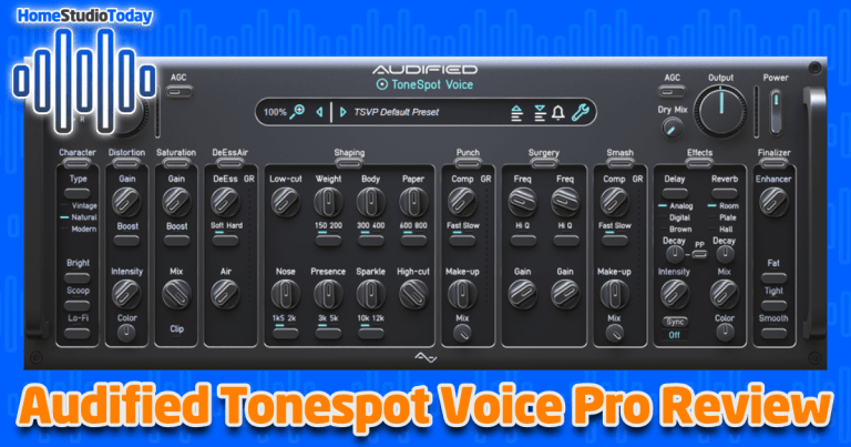Audified ToneSpot Voice Pro Review