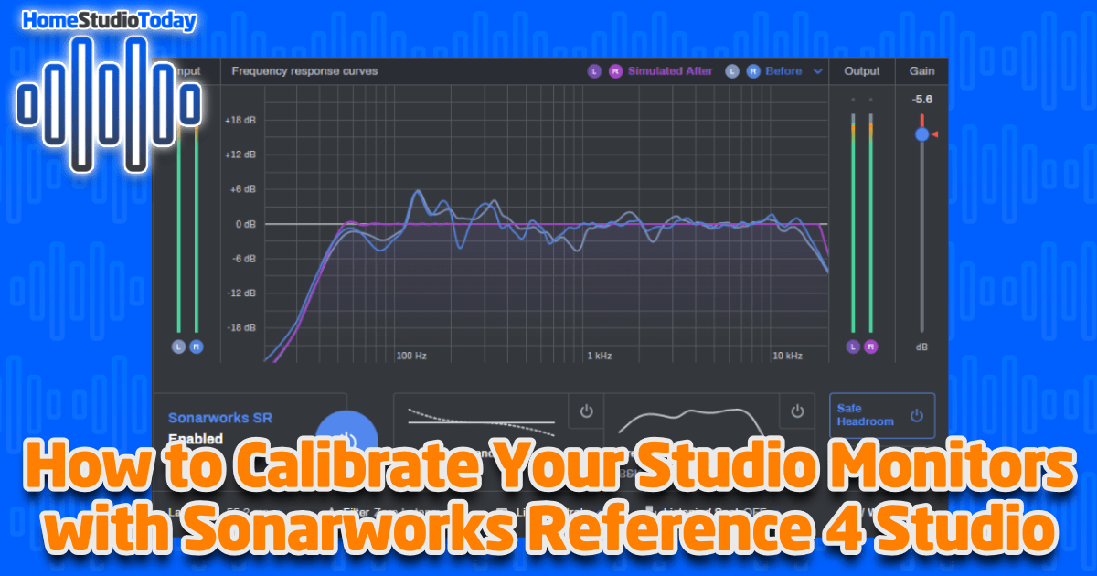 How To Calibrate Your Studio Monitors with Sonarworks Reference featured image