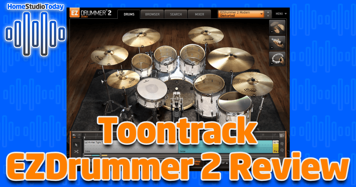 Toontrack EZDrummer 2 Review featured image