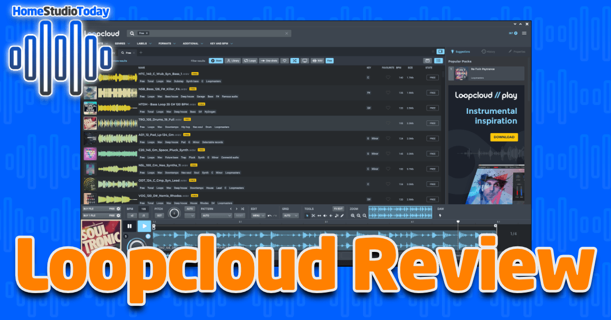 Loopcloud Review featured image