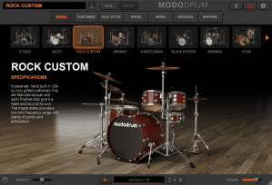 IK Multimedia MODO Drum Review - model