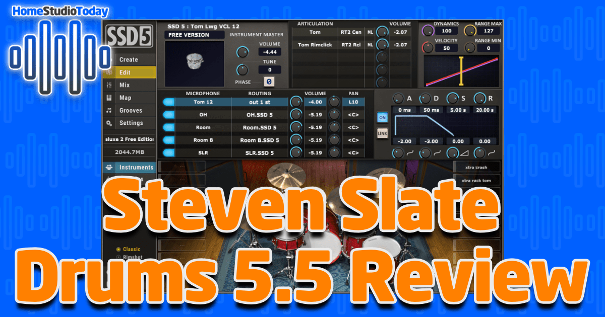 Steven Slate Drums 5.5 Review Featured Image