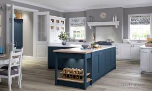 Ashbourne Windsor Blue kitchen