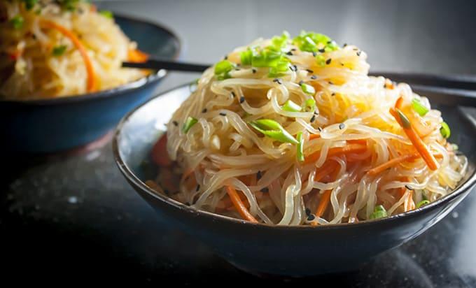 Resultado de imagen de shirataki noodles