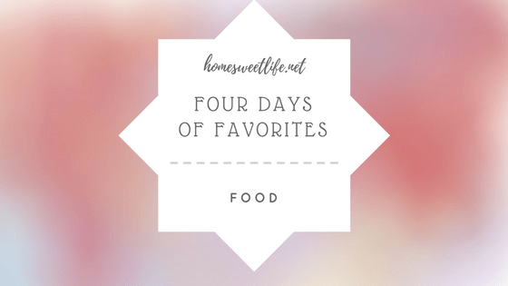 four days faves food