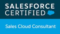 Sales Cloud Consultant Certification Logo