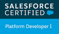 Platform Developer I Certification Logo