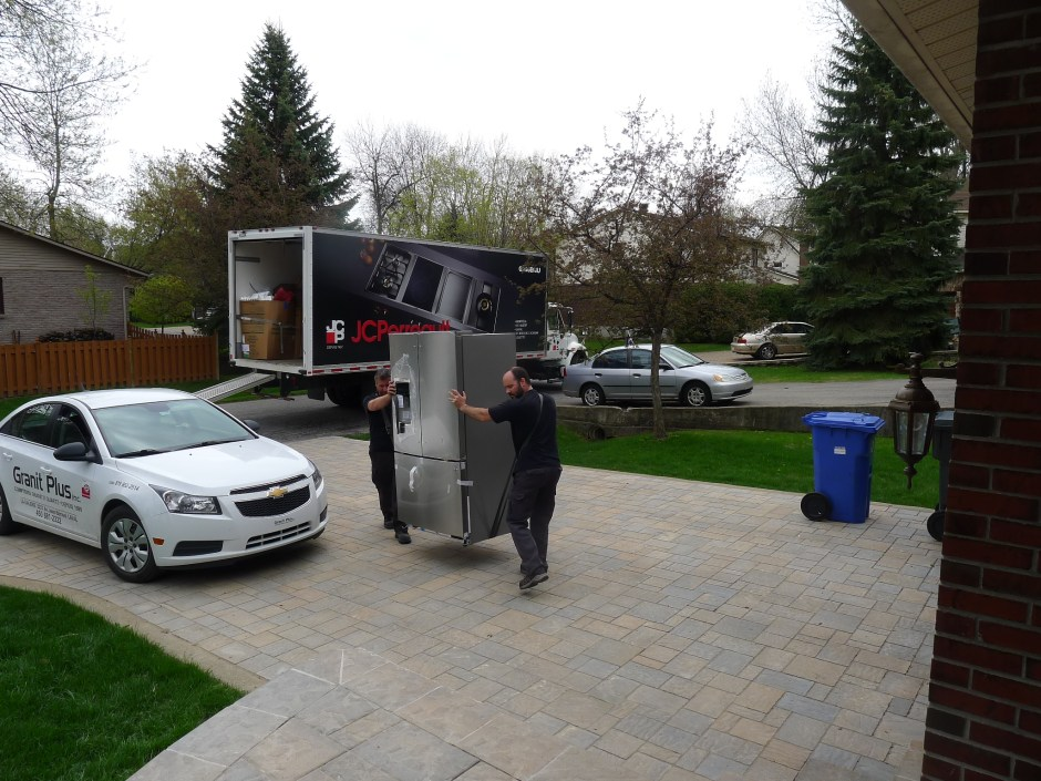 Appliances arrive