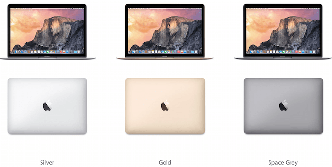 MacBook Colours