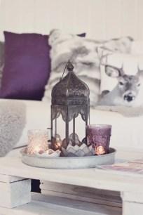 Lilac Gray na decoração