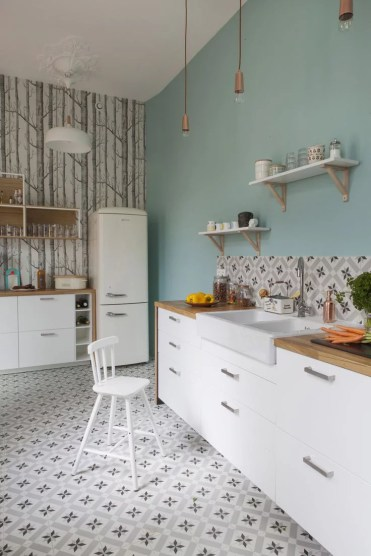 Guia completo para pintura de banheiros e cozinhas for Couleur peinture cuisine moderne