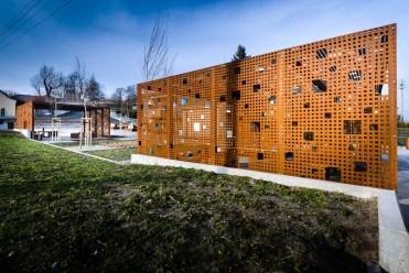 Espaço público em Gora Pulawska, na Polônia. Projeto: 3XA