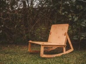 Cadeira de Balanço Marte por Wood Lock
