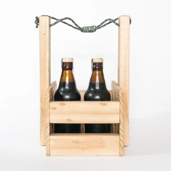 Caixote madeira para cerveja