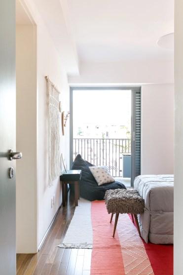Sobreposição de tapetes de tear | Foto: Histórias de Casa