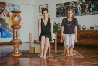 Nara Grossi e Giuliana Mora, Fotos por Bruna Bento para Hometeka