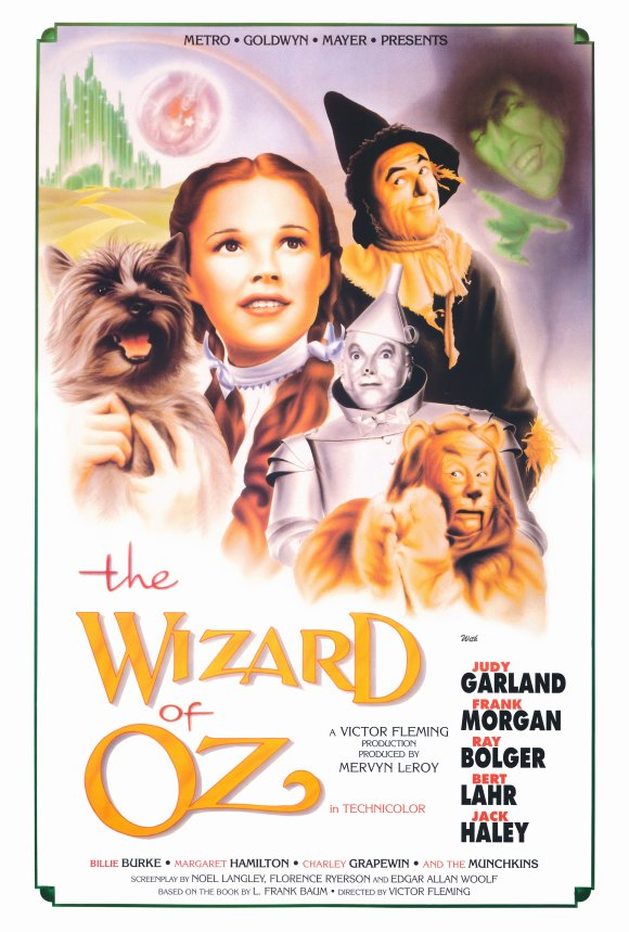 movie poster the wizard of oz 75th anniversary 1939