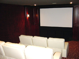 Home Theatre Interiors Let Us Help You With Design And