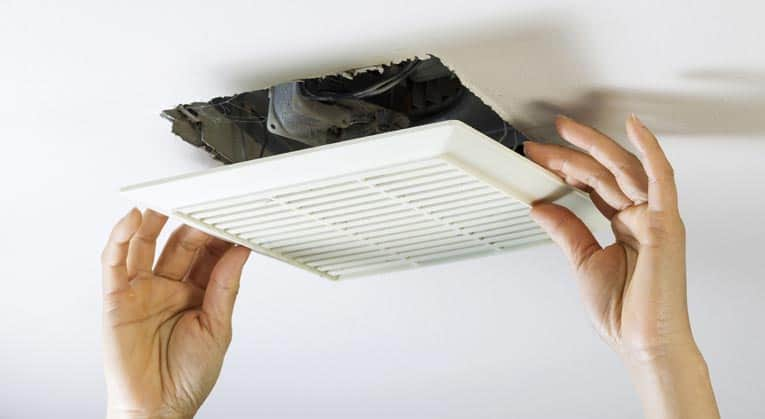 how to repair a bathroom or kitchen fan