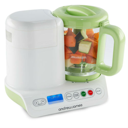 Andrew James Digital Baby Food Maker Compact Blender And Steamer Review