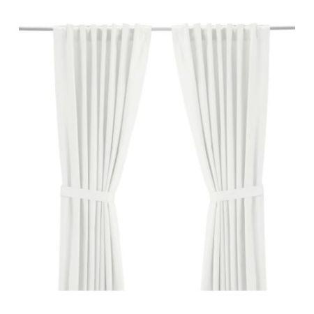 White Curtains black and white curtains ikea : Ikea Curtains for elegant homes - Hometone