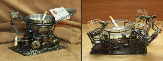 Steampunk Inspired Tableware For Geeky Homes Hometone