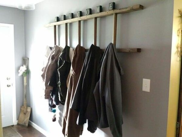 Ladder Display and Clothes Hanger